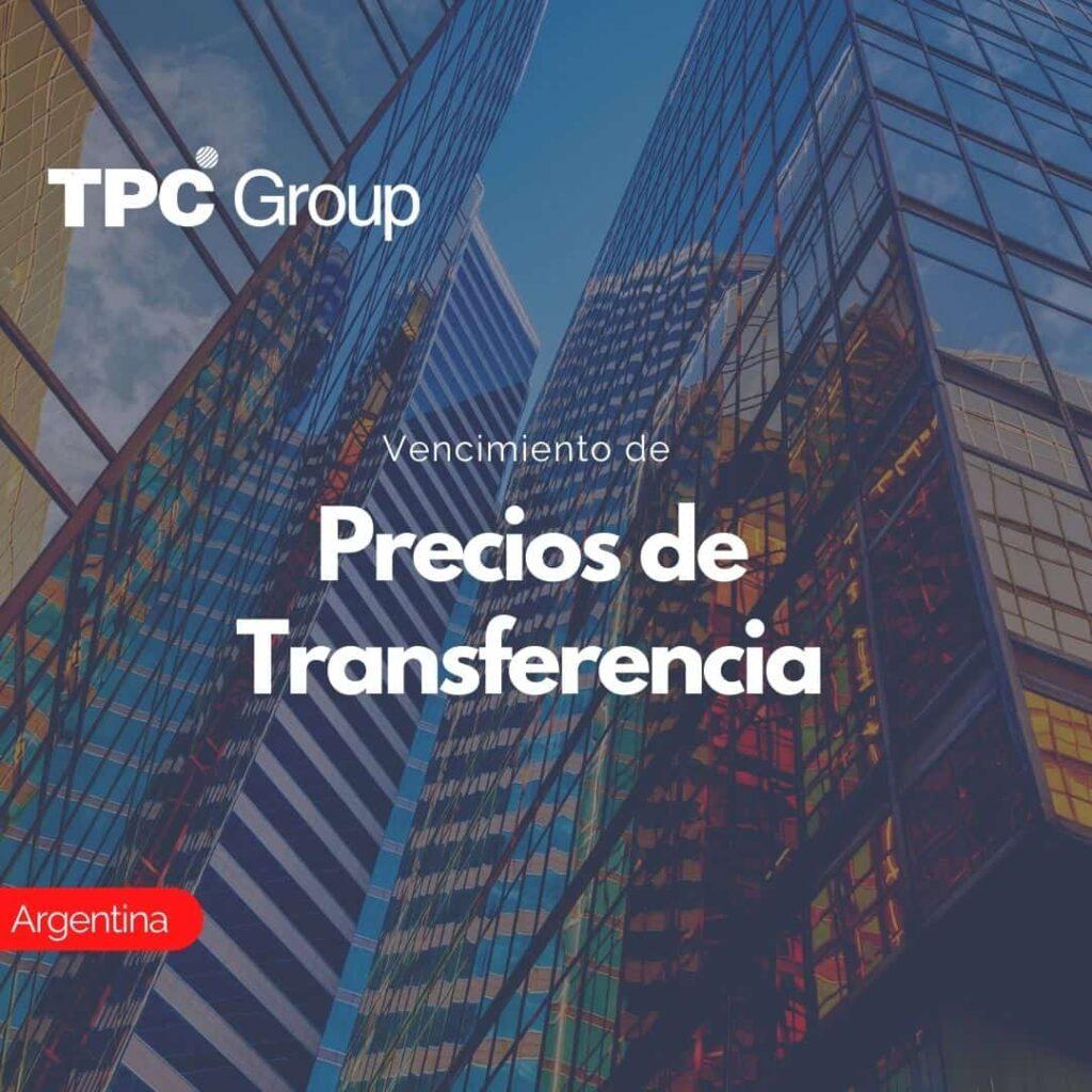 Vencimiento de Precios de Transferencia en Argentina