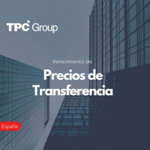Vencimiento de Precios de Transferencia en España