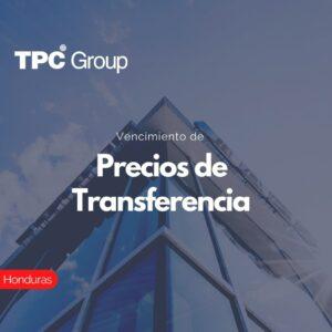 Vencimiento de Precios de Transferencia en Honduras