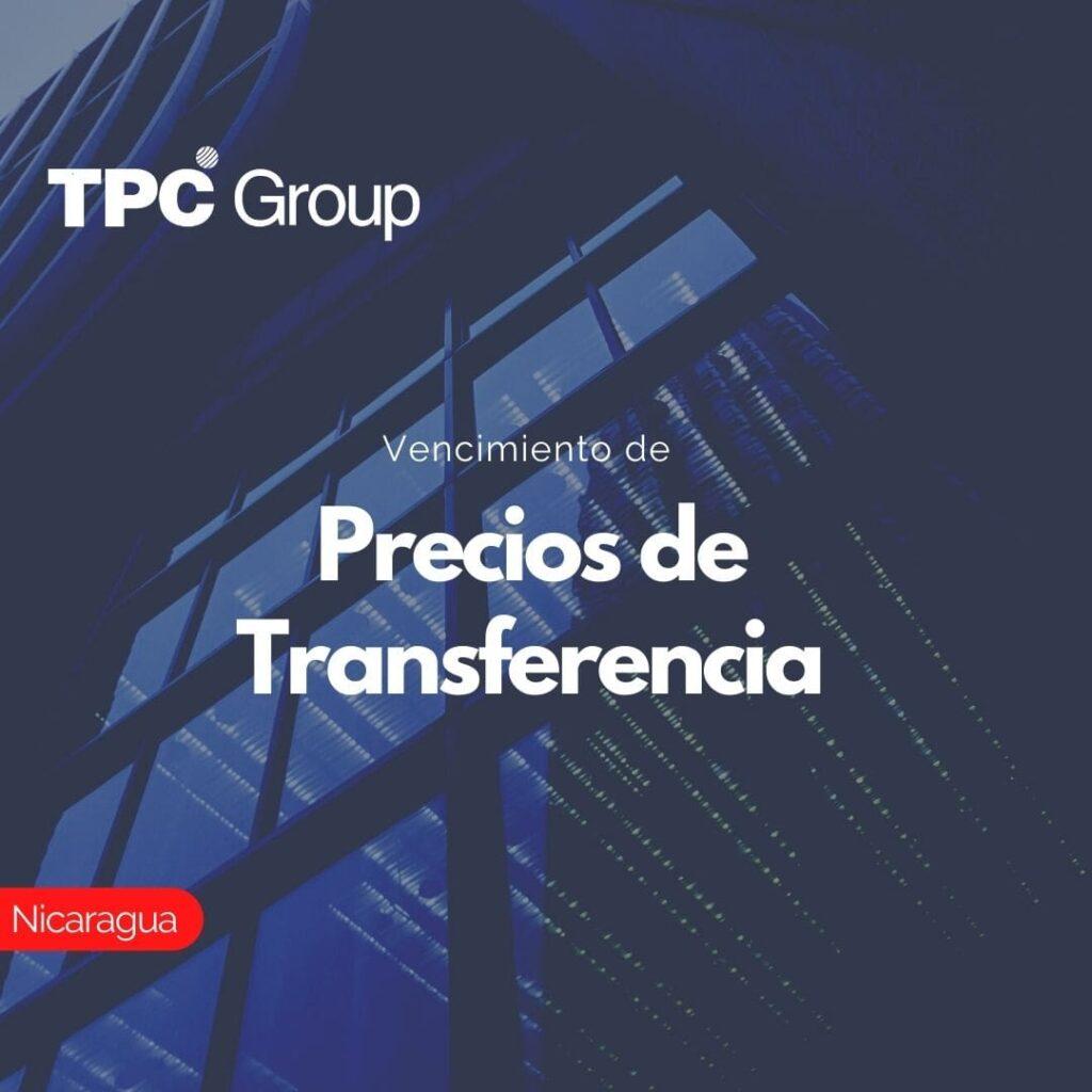 Vencimiento de Precios de Transferencia en Nicaragua
