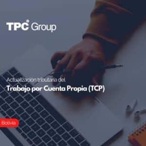 Actualización tributaria del Trabajo por Cuenta Propia (TCP)