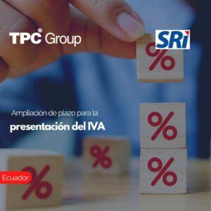 Ampliación de plazo para la presentación del IVA