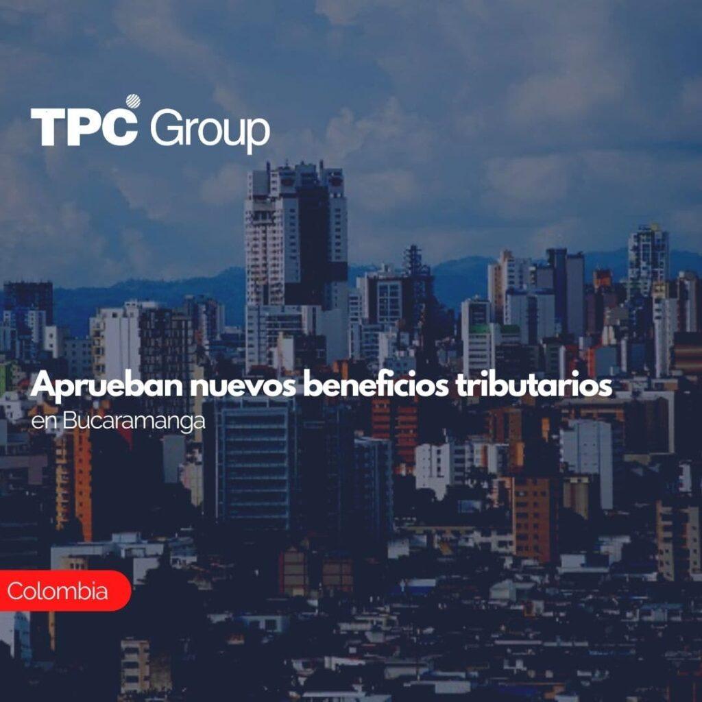 Aprueban nuevos beneficios tributarios en Bucaramanga