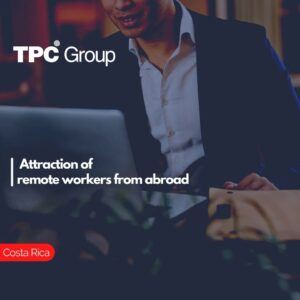Attraction of remote workers from abroad