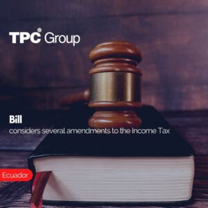 Bill considers several amendments to the Income Tax