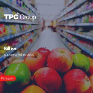 Bill on supermarket invoices