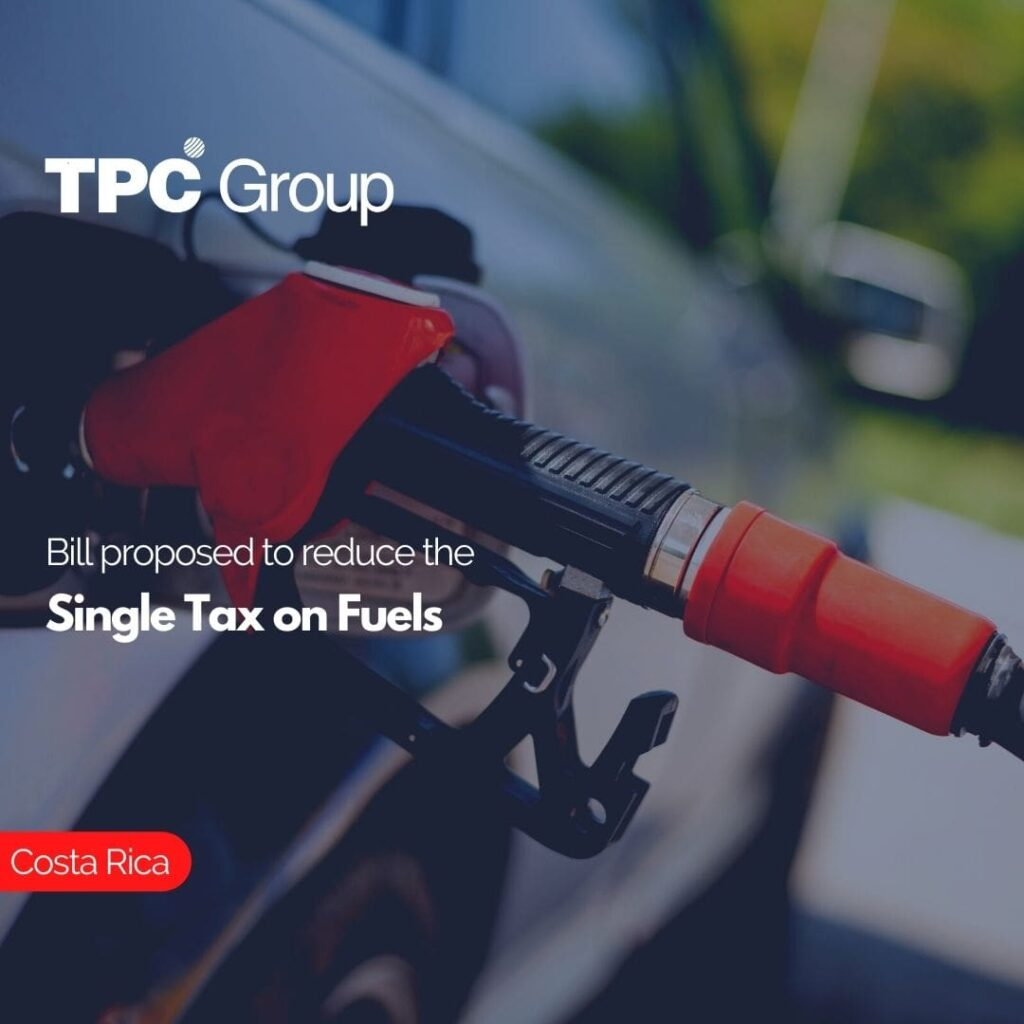 Bill proposed to reduce the Single Tax on Fuels
