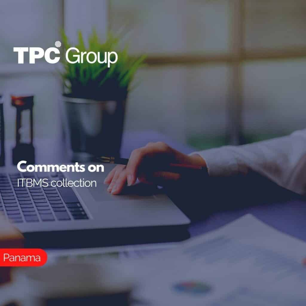 Comments on ITBMS collection