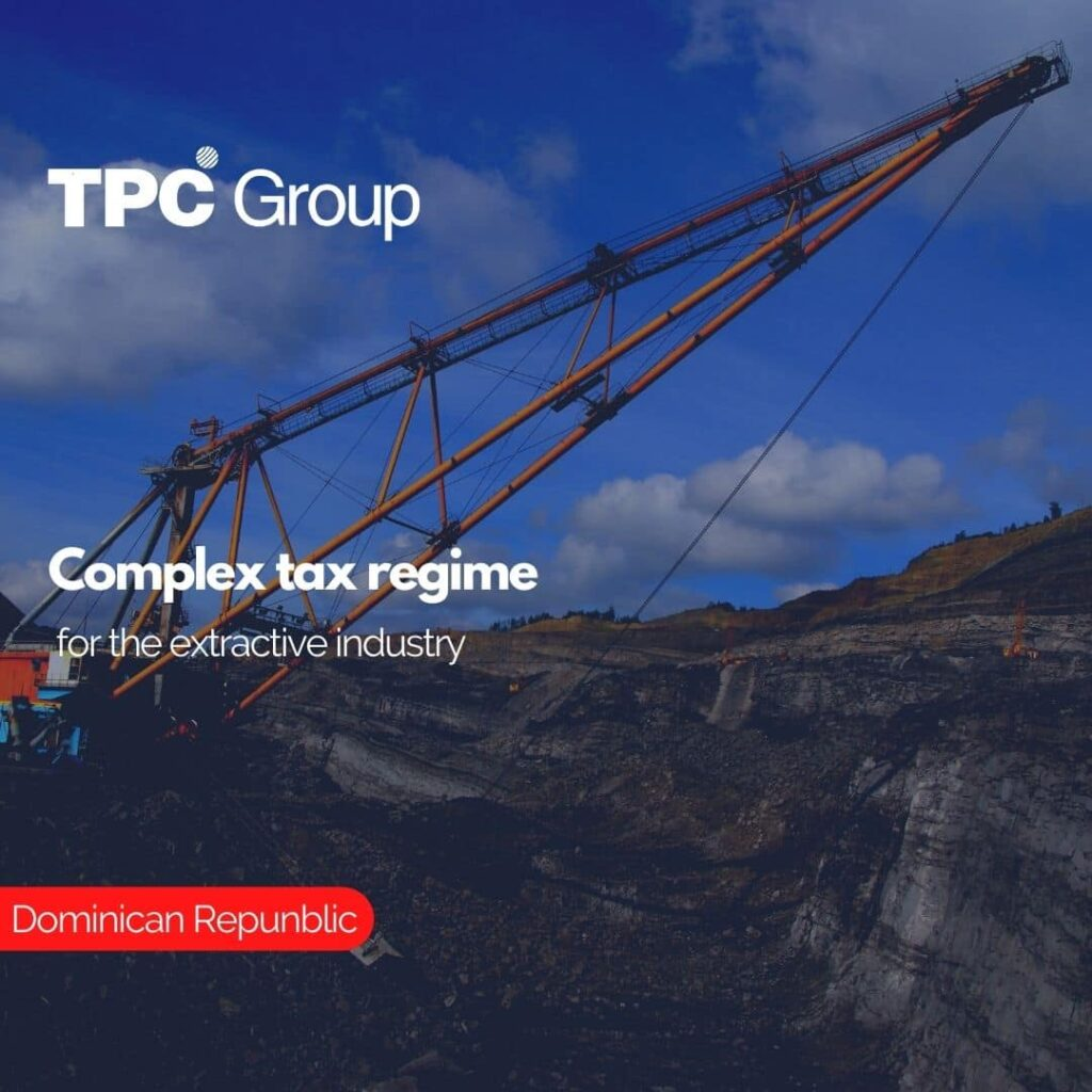 Complex tax regime for the extractive industry
