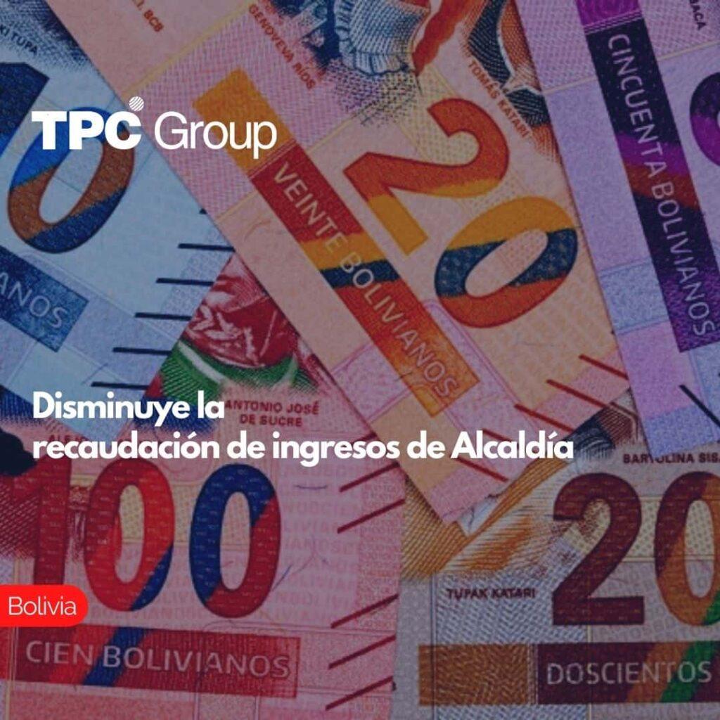Disminuye la recaudación de ingresos de Alcaldía
