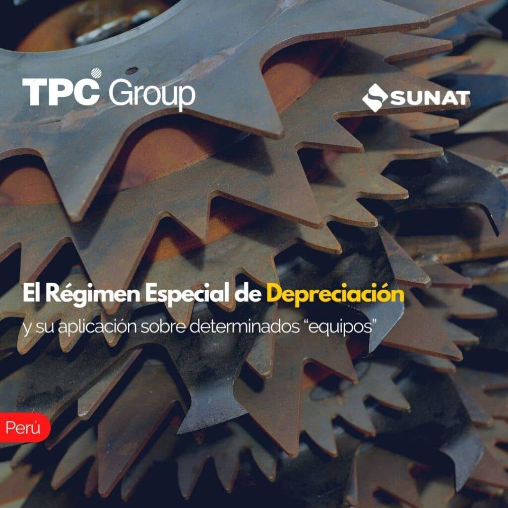 """El Régimen Especial de Depración y su aplicación sobre determinados """"equipos"""""""