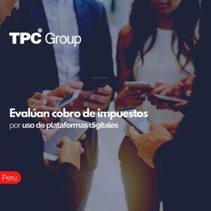 Evalúan cobro de impuestos por uso de plataformas digitales