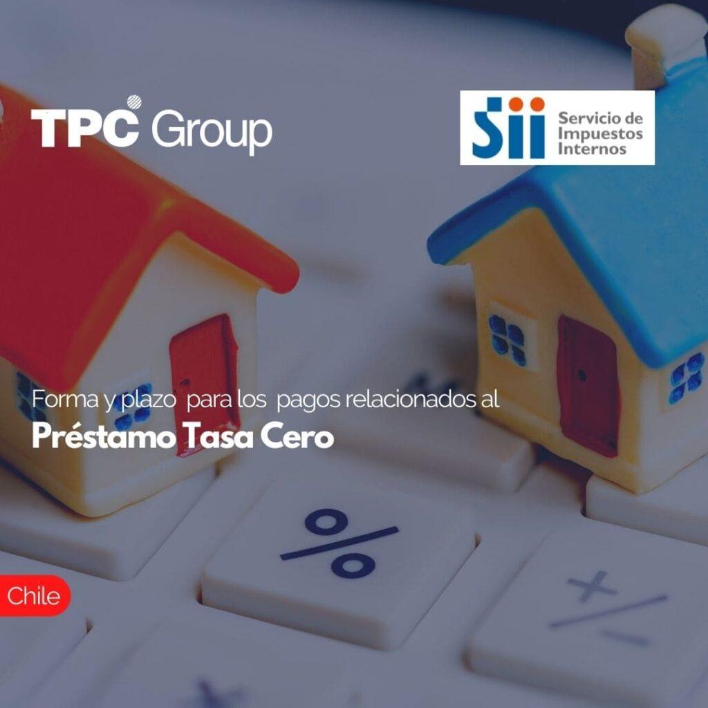 Forma y plazo para los pagos relacionados al Préstamo Tasa Cero