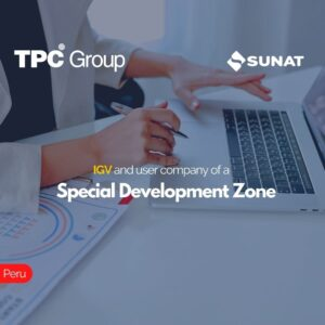 IGV and user company of a Special Development Zone