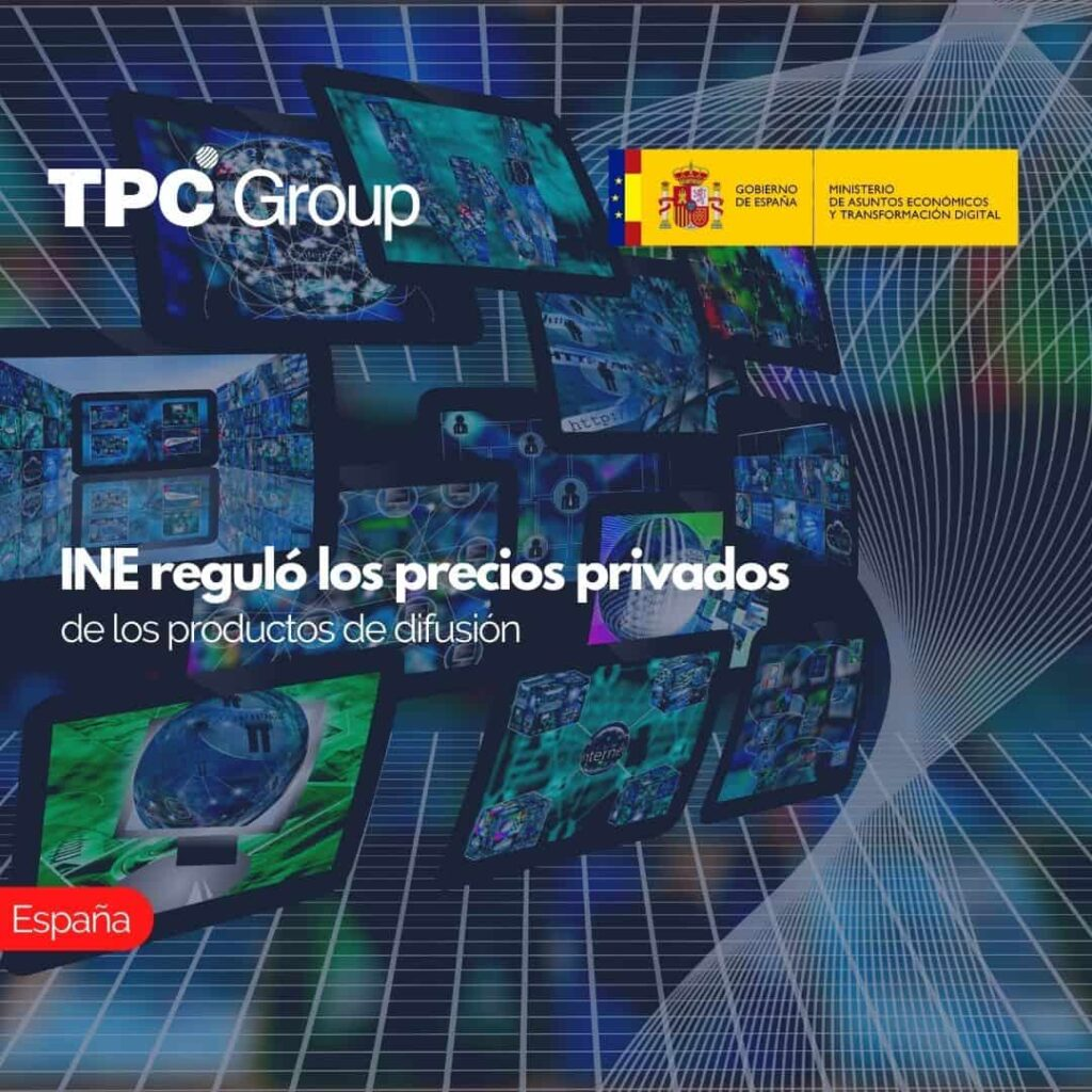 INE regulo los precios privados de los productos de difusión