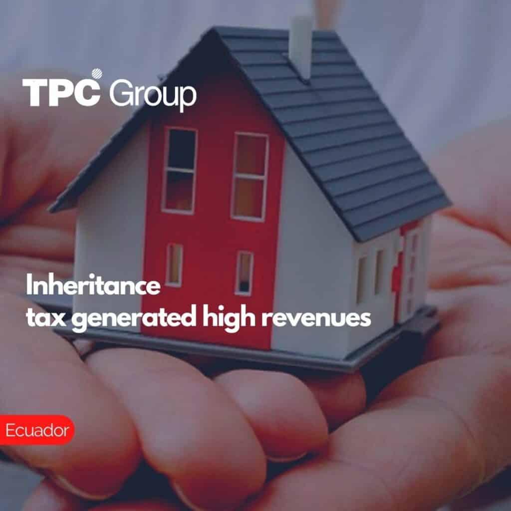 Inheritance tax generated high revenues