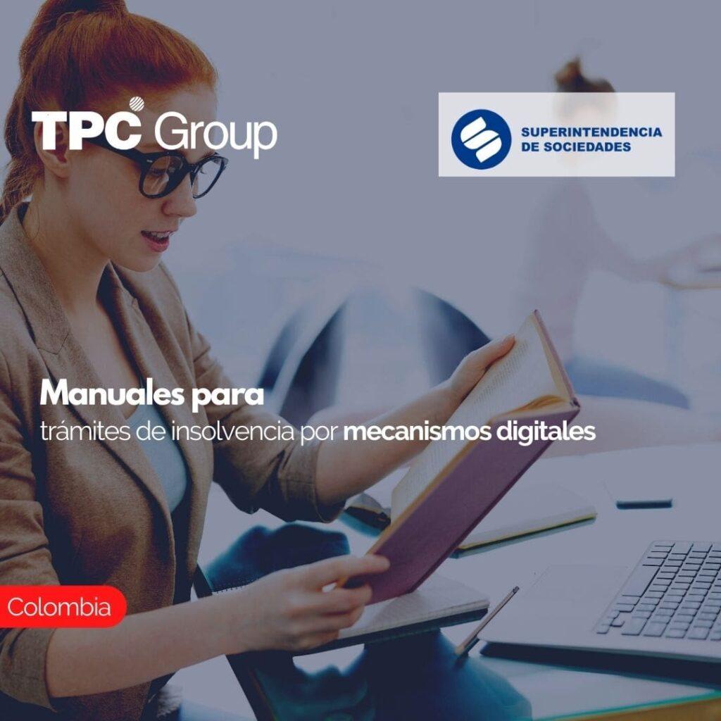 Manuales para trámites de insolvencia por mecanismos digitales