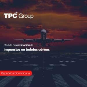 Medida de eliminación de impuestos en boletos aéreos