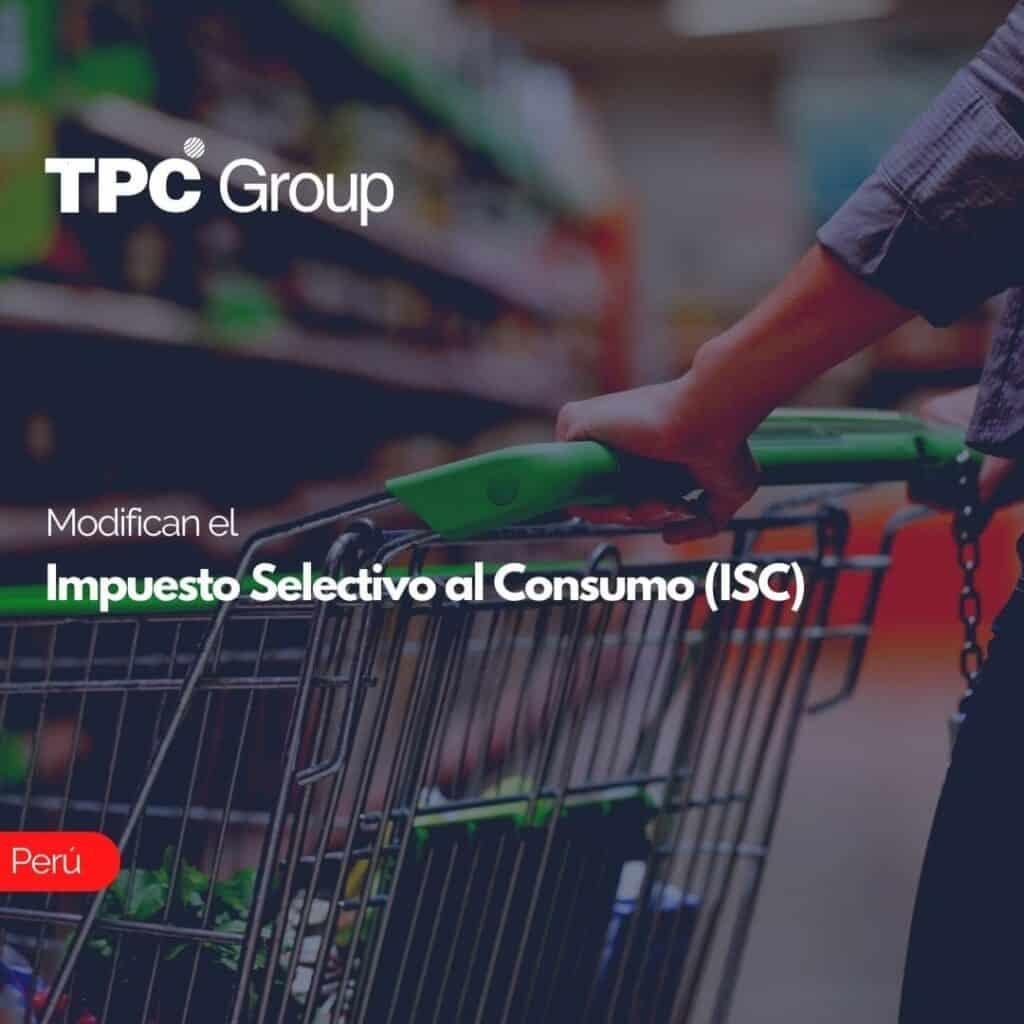 Modifican el Impuesto Selectivo al Consumo (ISC)