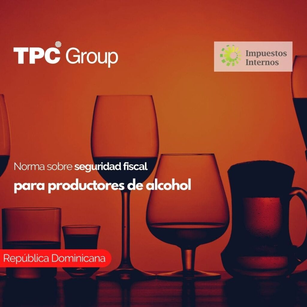 Norma sobre seguridad fiscal para productores de alcohol
