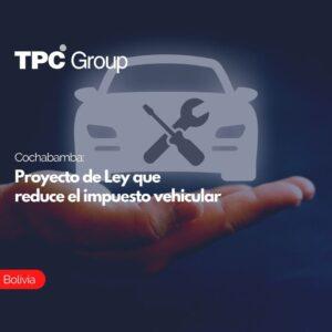 Ochabamba Proyecto de Ley que reduce el impuesto vehicular
