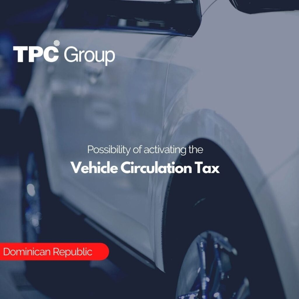 Possibility of activating the Vehicle Circulation Tax