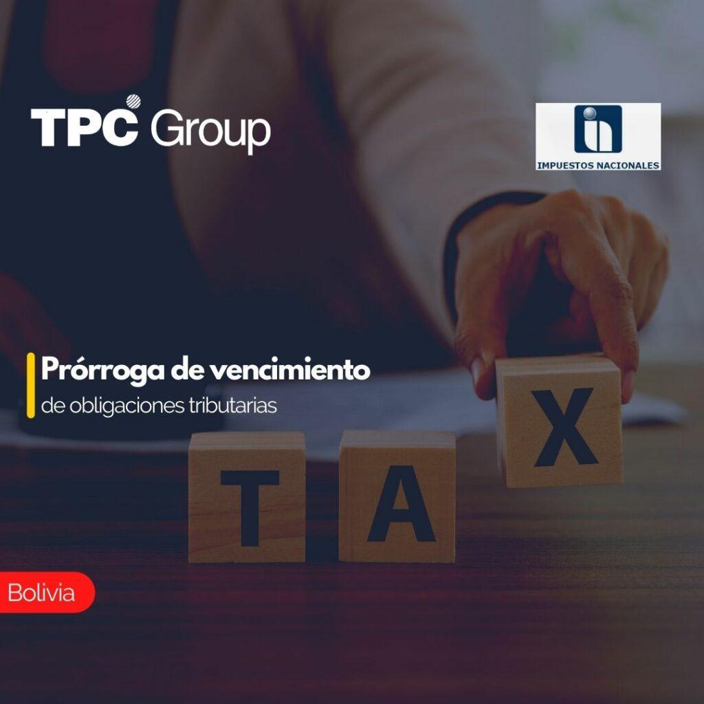 Prórroga de vencimiento de obligaciones tributarias