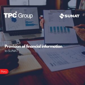 Provision of financial information to SUNAT