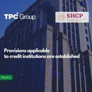 Provisions applicable to credit institutions are established