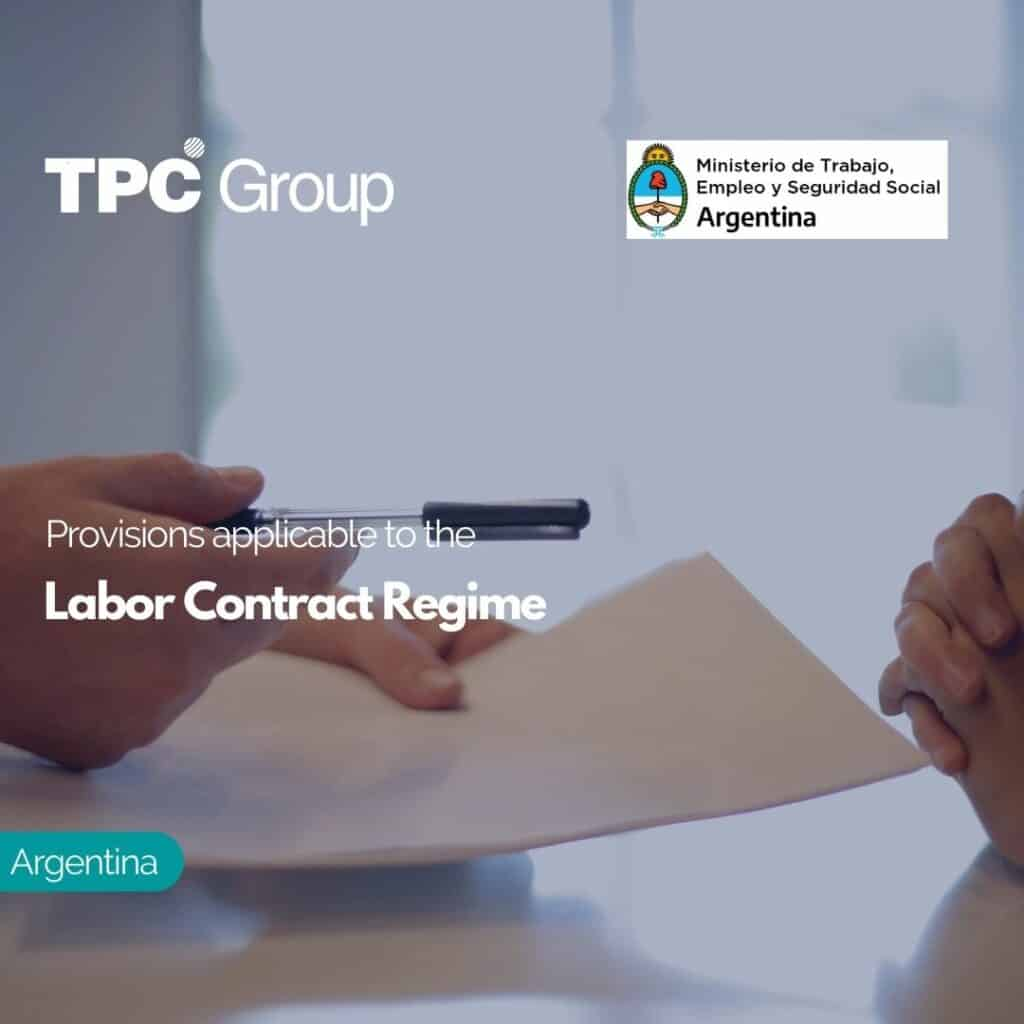 Provisions applicable to the Labor Contract Regime