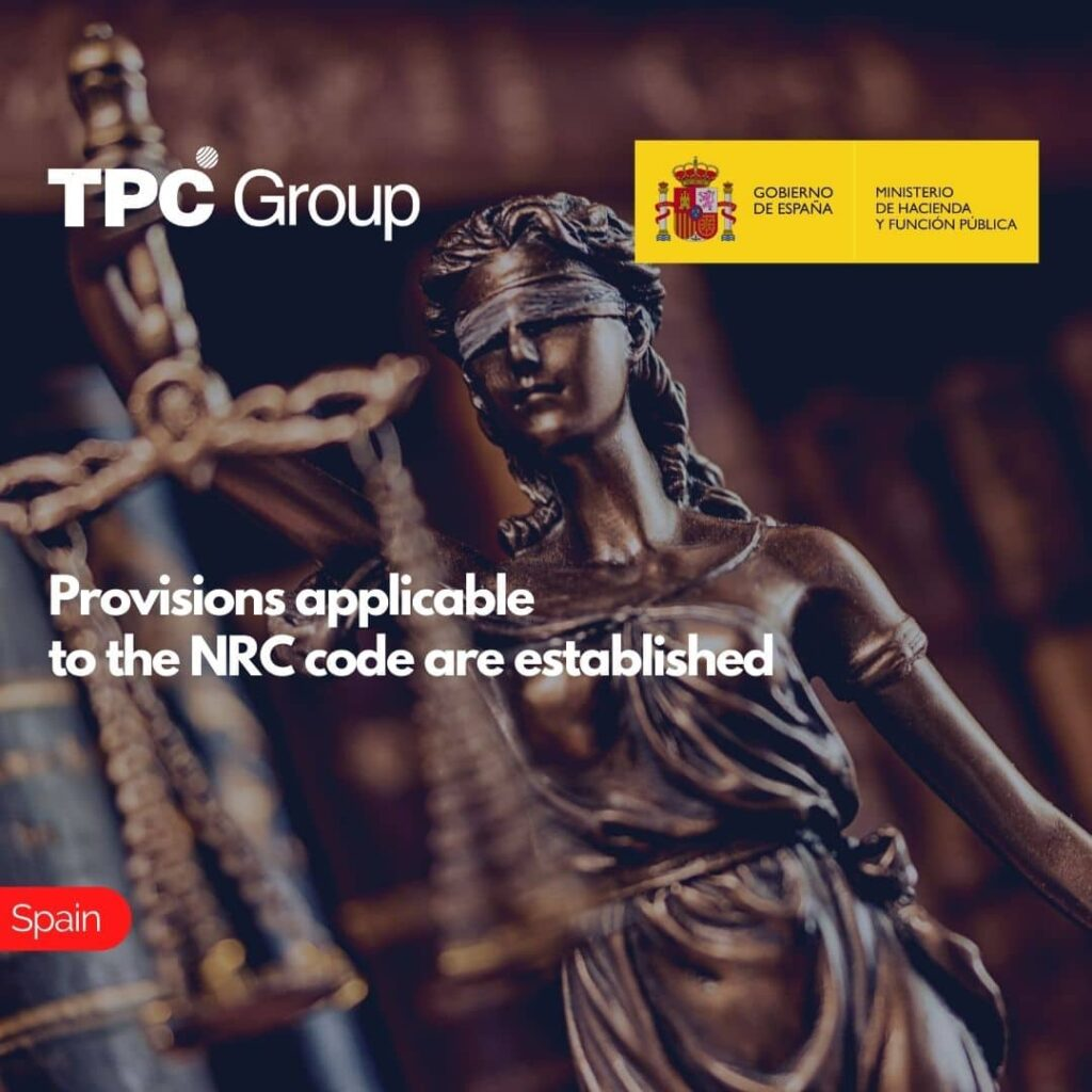 Provisions applicable to the NRC code are established