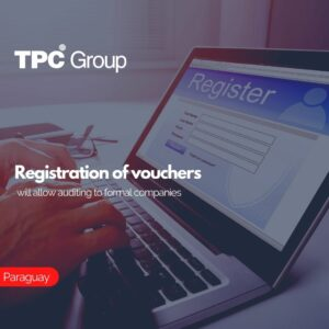 Registration of vouchers will allow auditing to formal companies