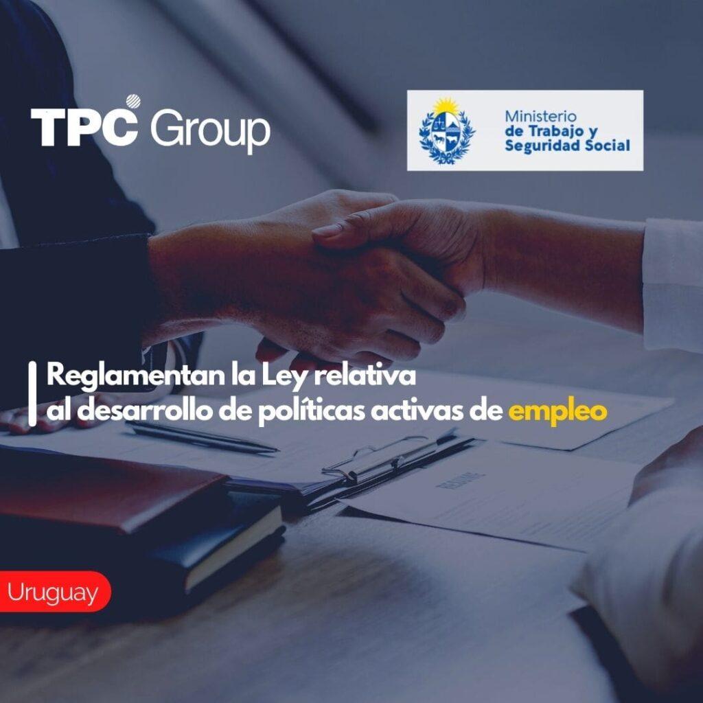 Reglamentan la Ley relativa al desarrollo de políticas activas de empleo.