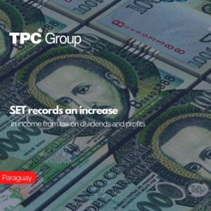 SET records an increase in income from tax on dividends and profits