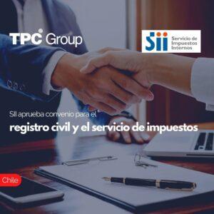 SII aprueba convenio para el registro civil y el servicio de impuestos