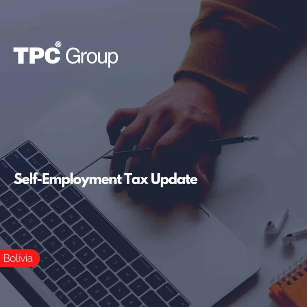Self-Employment Tax Update