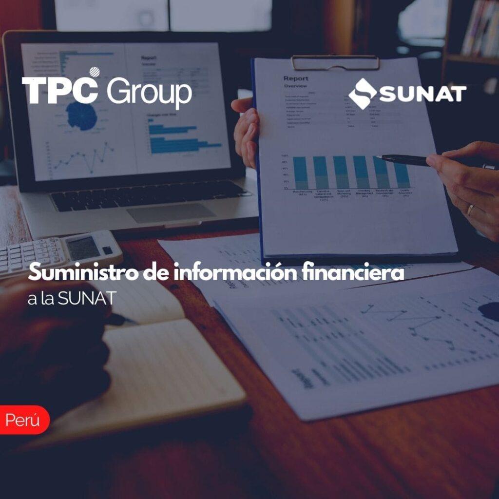 Suministro de información financiera a la SUNAT