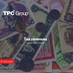 Tax revenues keep rising in 2021