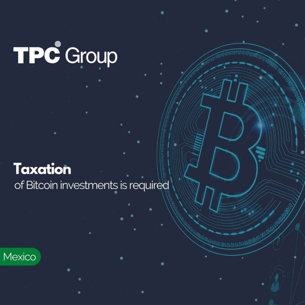 Taxation of Bitcoin investments is required
