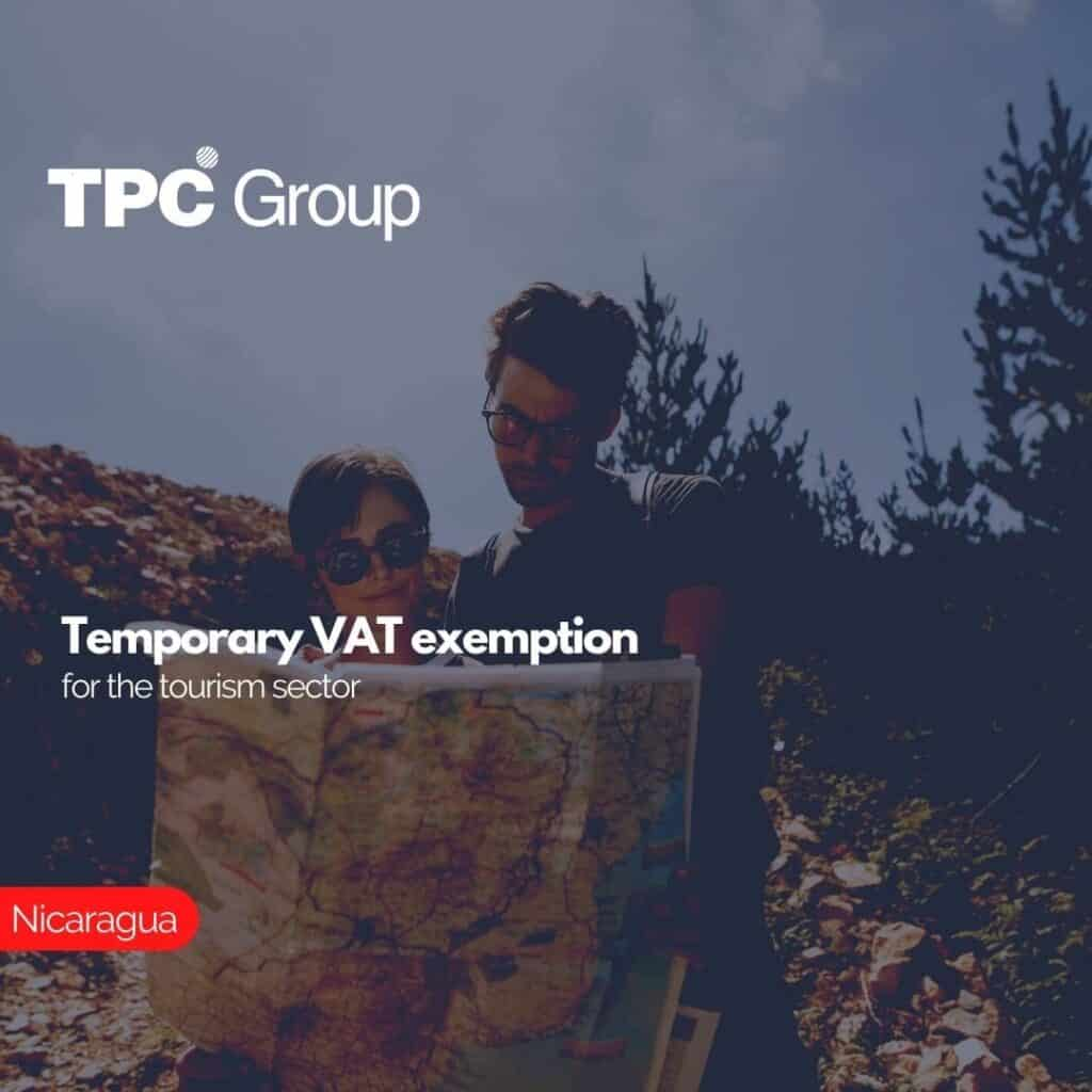 Temporary VAT exemption for the tourism sector