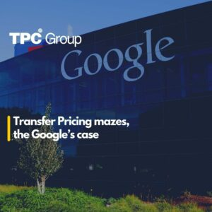 Transfer Pricing mazes, the Google's case