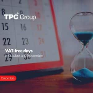 VAT-free days in October and November